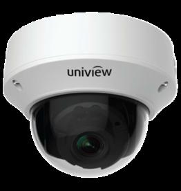 Uniview Vandal Resistant IP Network Dome Camera, PoE, IR, 5MP 2190P, 2.7-13.5mm