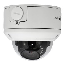 GoSwift 5MP Vandal Resistant IP Network Dome Camera, PoE, IR, 2190P, 2.8mm Fixed Lens