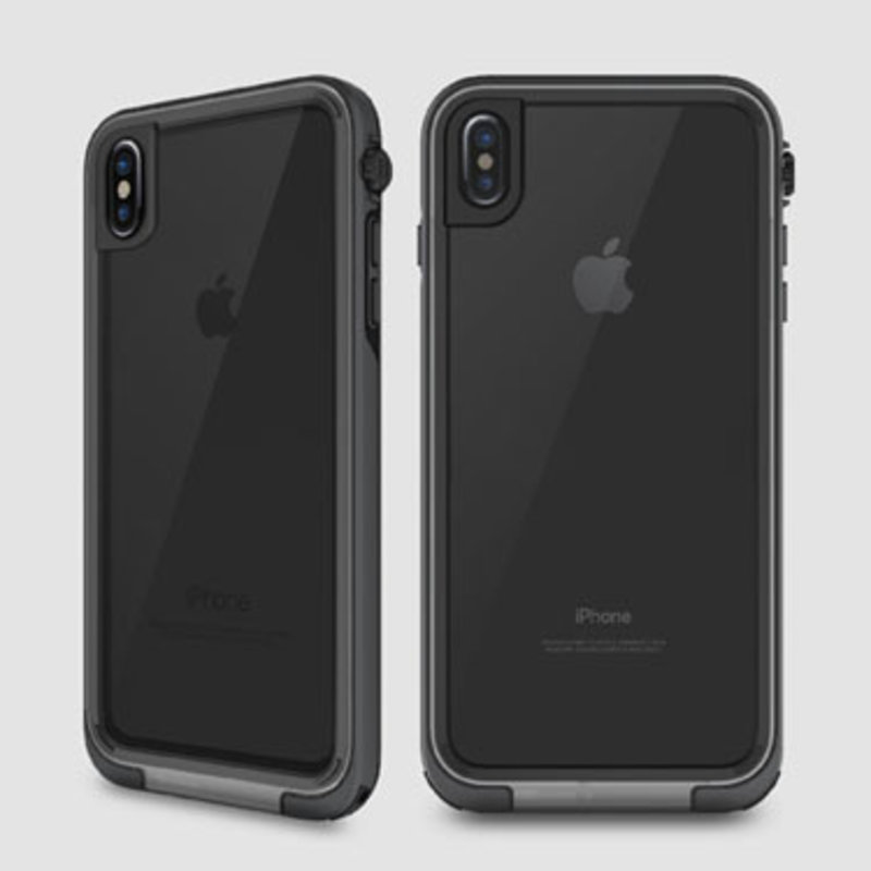Adventure Waterproof Case, iPhone X, Grey/Black