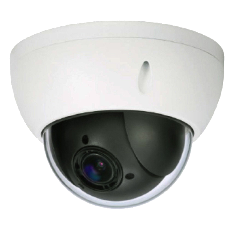 2MP IP Network 4X Vandal Dome PTZ Security Camera