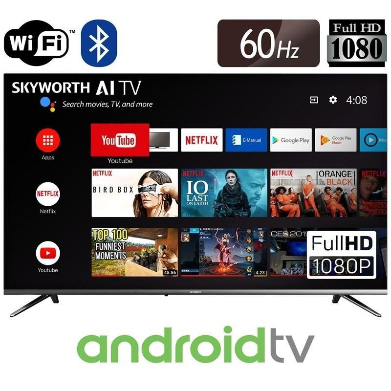 32'' E20 Smart Android HDTV Bezel-less Full Screen Design