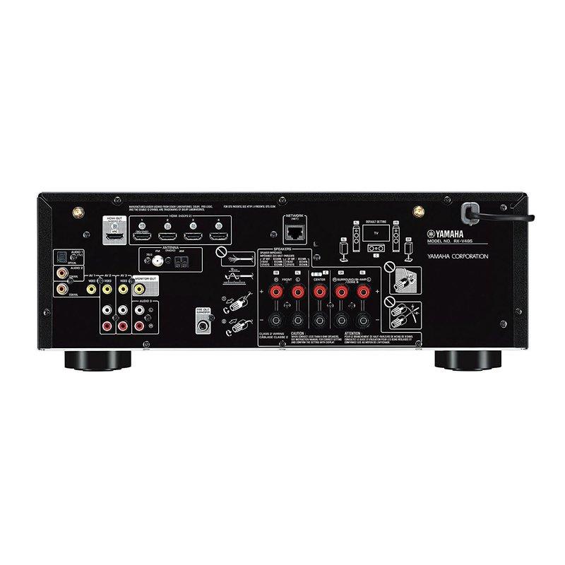 5.1 Home Theatre Receiver 145w/CH MusicCast Wi-Fi Wireless DTS-HD