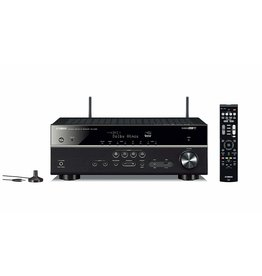 Yamaha RXV585 - 7.2 Home Theatre Receiver 145w/CH MusicCast Wi-Fi, Dolby Atmos