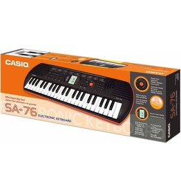 Casio SA76 - 44-note electric keyboard w/ 5 drum pads