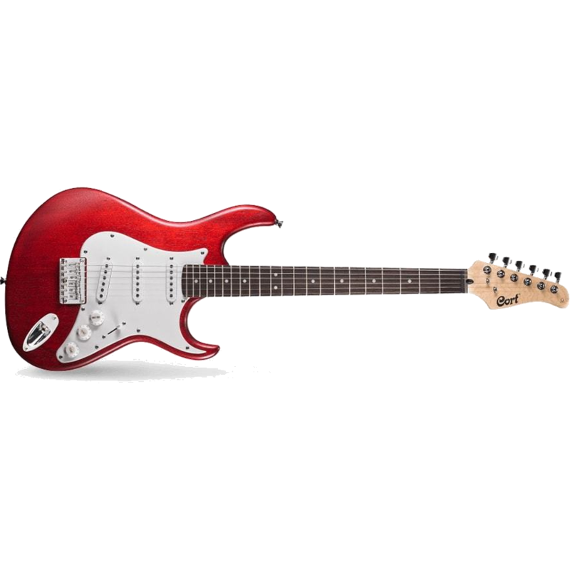 G100 Openpore Double Cutaway Strat Style Electric