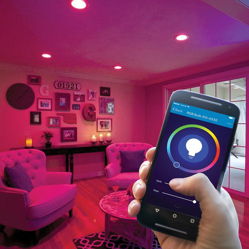 Smart WiFi RGB+CCT / Light Bulb LED White+Colour (BR30 Bulb)