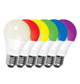 UltraLink Smart Home Smart WiFi RGB+CCT / Light Bulb LED White+Colour (A19 Bulb)