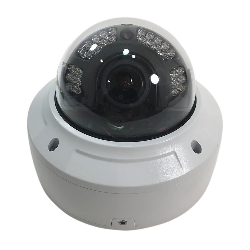 4K 8MP Motorized IP Network Vandal Dome Security Camera 3.3-12mm Lens