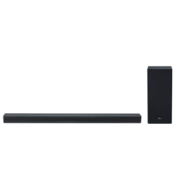 LG SK6Y - 2.1 360w High Resolution Audio Sound Bar, HDMI, WiFi