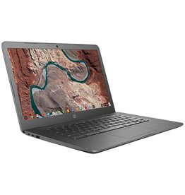 HP Chromebook 14-inch, 1.6 GHz AMD Dual-Core, 32 GB eMMC, 4 GB SDRAM, Chrome OS