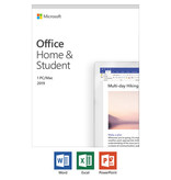 Microsoft Office PC/Mac 2019 Home & Student (1-User) Medialess