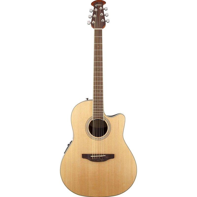 Nylon Cedar Top Mid Depth Acoustic-Electric Guitar, Natural