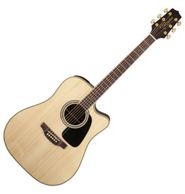 Takamine Dreadnought Cutaway Acoustic-Electric Guitar - Natural