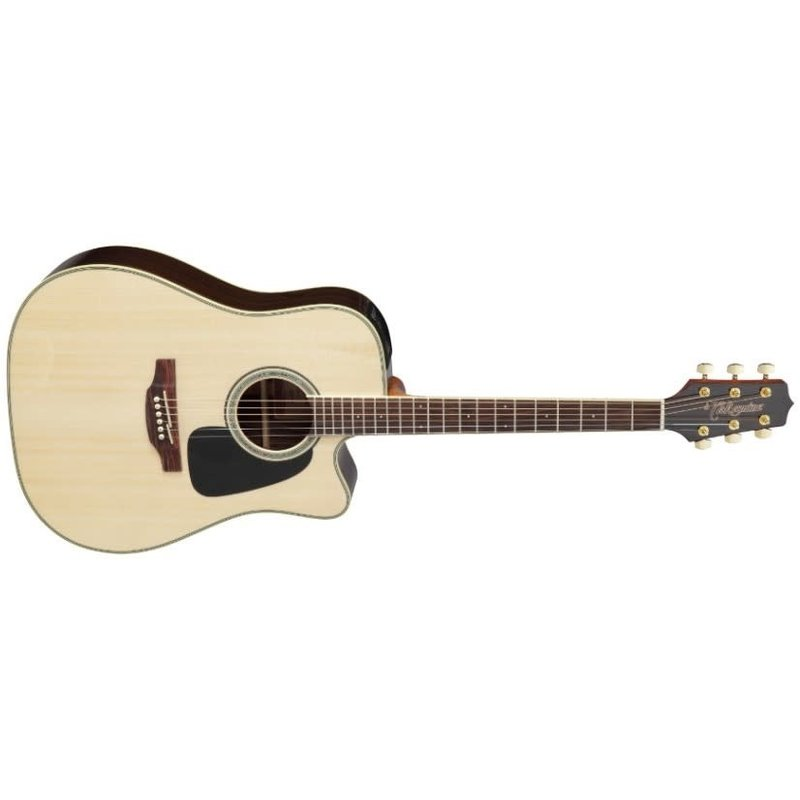 Dreadnought Cutaway Acoustic-Electric Guitar - Natural