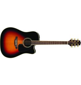 Takamine Dreadnought Cutaway Acoustic-Electric Guitar, Sunburst