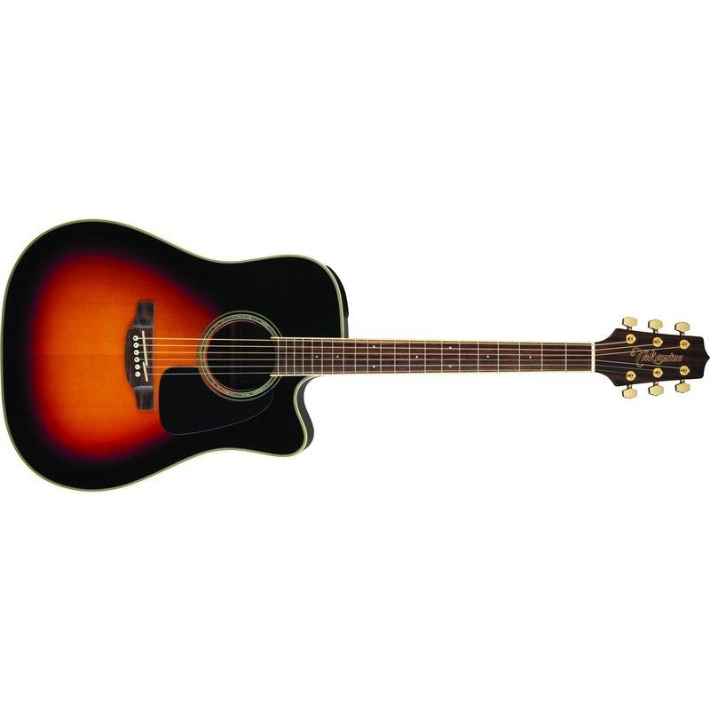 Dreadnought Cutaway Acoustic-Electric Guitar, Sunburst