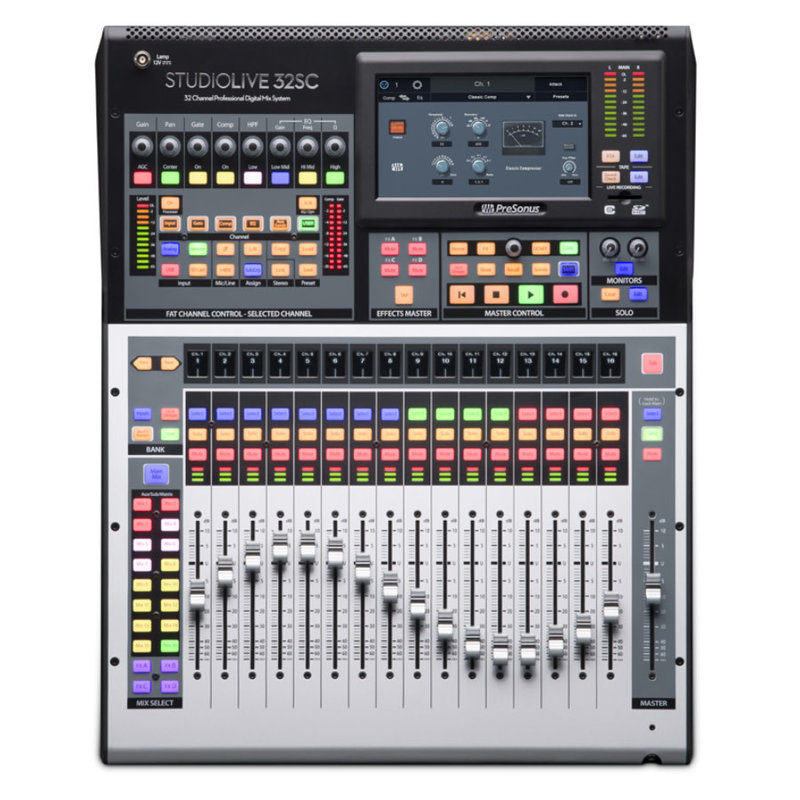 StudioLive 32Ch Digital Console and USB Audio Interface