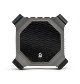 ECOXGEAR EcoDrift 15 Watt Waterproof Outdoor Bluetooth Speaker with EcoTalk Button - Grey