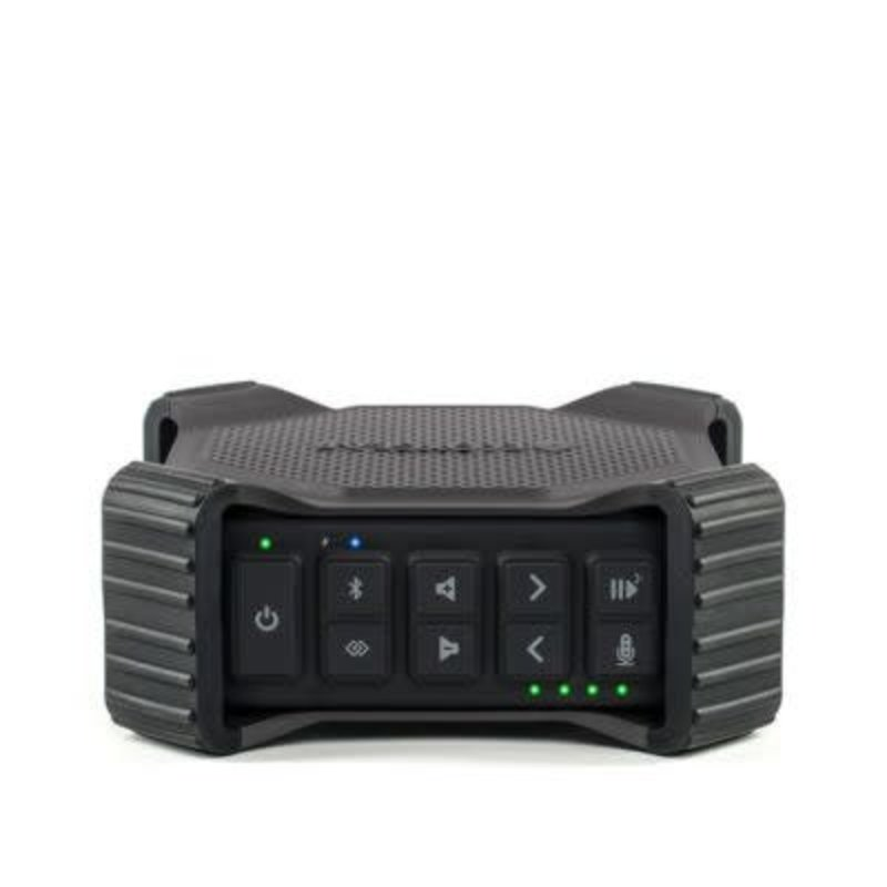 Ecoxgear EcoDrift 15 Watt Waterproof Outdoor Bluetooth Speaker with EcoTalk Button - Grey
