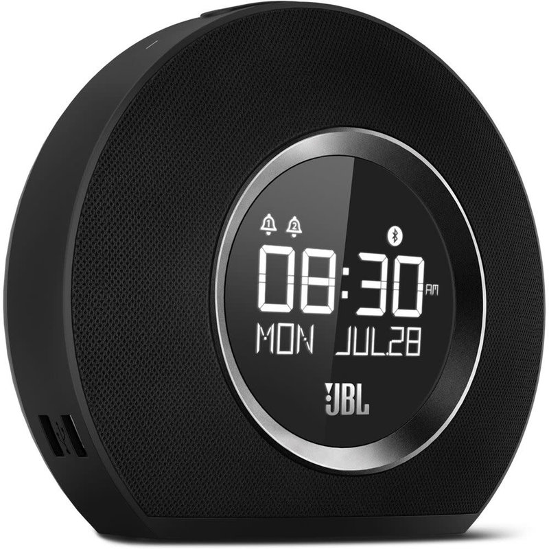Horizon - Bluetooth Alarm Clock Radio - Black