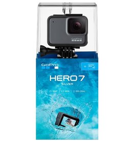 GoPro Hero 7 SILVER Waterproof 4K Sports Camera