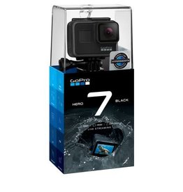 GoPro Hero 7 Black Waterproof 4K Sports Camera