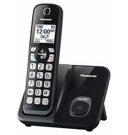 Panasonic KX-TGD510B - Single unit cordless home phone