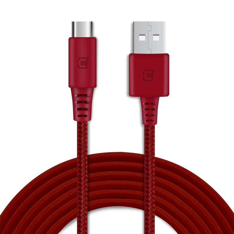 Caseco Rugged Braided 2M USB C Cable