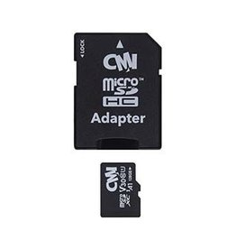 CMI U1 Class 10 Micro SDHC Memory Card w/SD Adapter