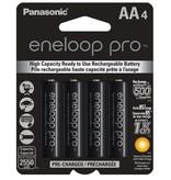 Panasonic ENELOOP PRO AA 4PK 2550MAH RECHARGEABLE