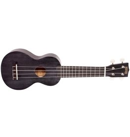 Mahalo MJ1 JAVA Soprano Ukulele w/ Bag - Trans Black