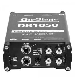 On-Stage Stands DB1050 Passive Multimedia Direct Box