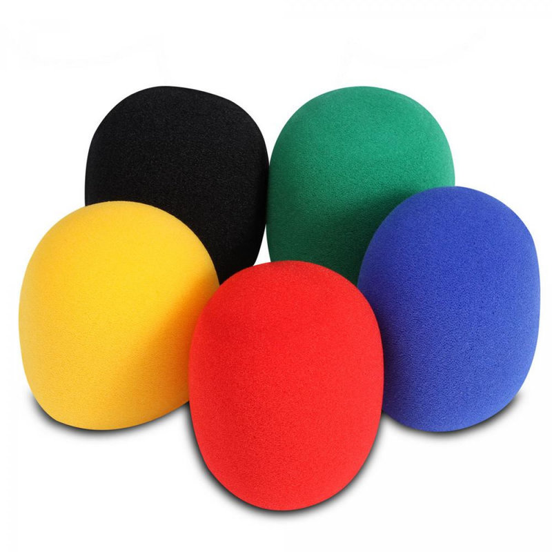 Microphone Windscreens 5pk Colors