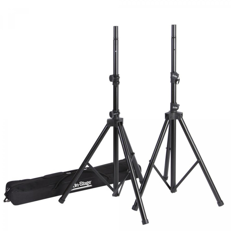 OnStage Speaker Stands With Bag