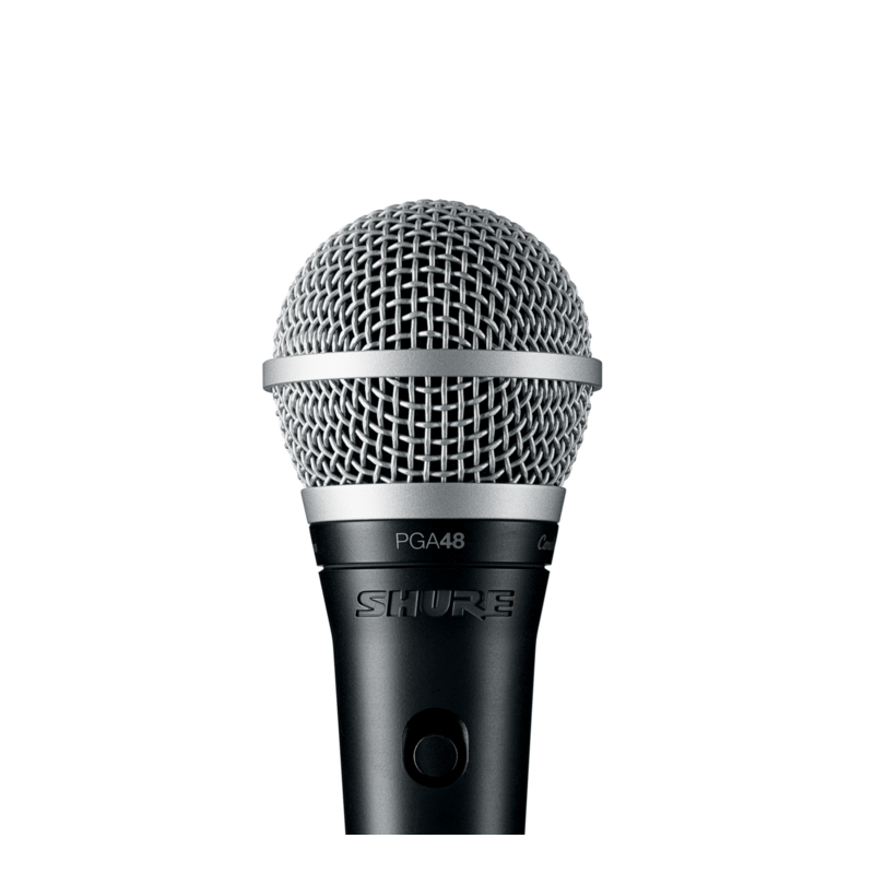 Switched Cardioid Dynamic Microphone With XLR-Qtr Cable