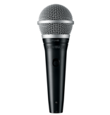 Shure Switched Cardioid Dynamic Microphone With XLR-Qtr Cable