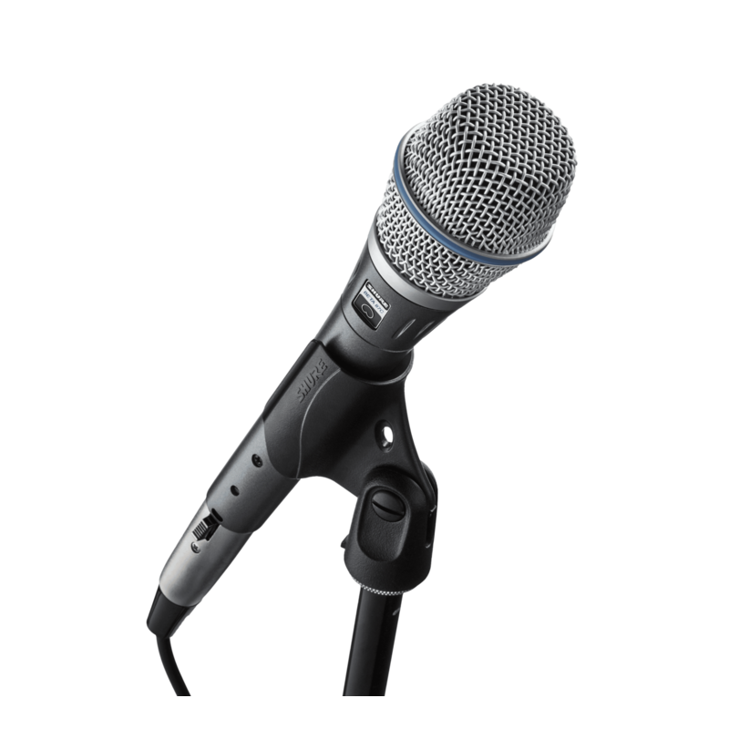 Cardioid Condenser Microphone For Vocal Applications