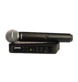 Shure BLX24SM58 - SM58 UHF Handheld Wireless Mic System