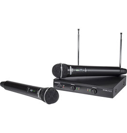 Samson Stage 200 Dual Handheld VHF Wireless System