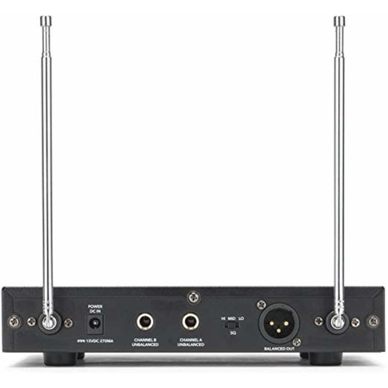 Stage 200 Dual Handheld VHF Wireless System