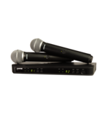 Shure Wireless Dual Vocal System with two PG58 Handheld Transmitters