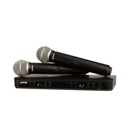 Shure BLX288PG58 - Wireless Dual Vocal System with two PG58 Handheld Transmitters