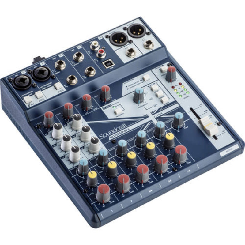 Small-Format Analog Mixing Console With Usb I/O And Lexicon Effects