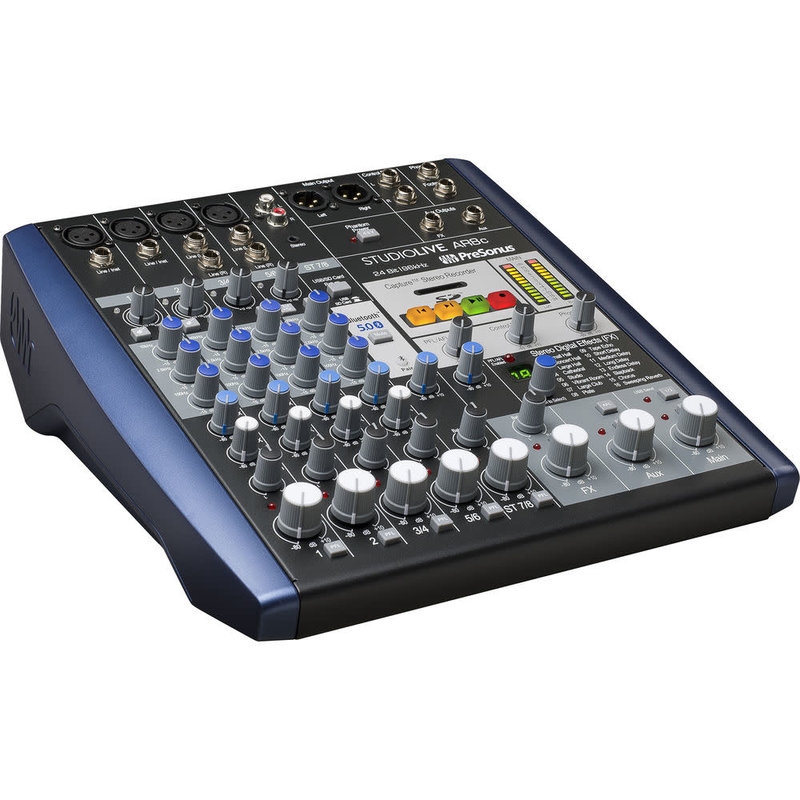 Usb Type-C 8-Channel Hybrid Performance And Recording Mixer