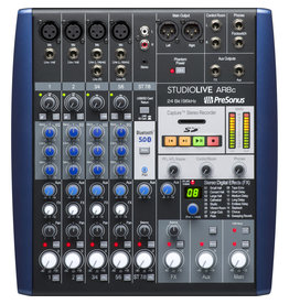 Presonus STUDIOLIVE-AR8C Usb Type-C 8-Channel Hybrid Performance And Recording Mixer