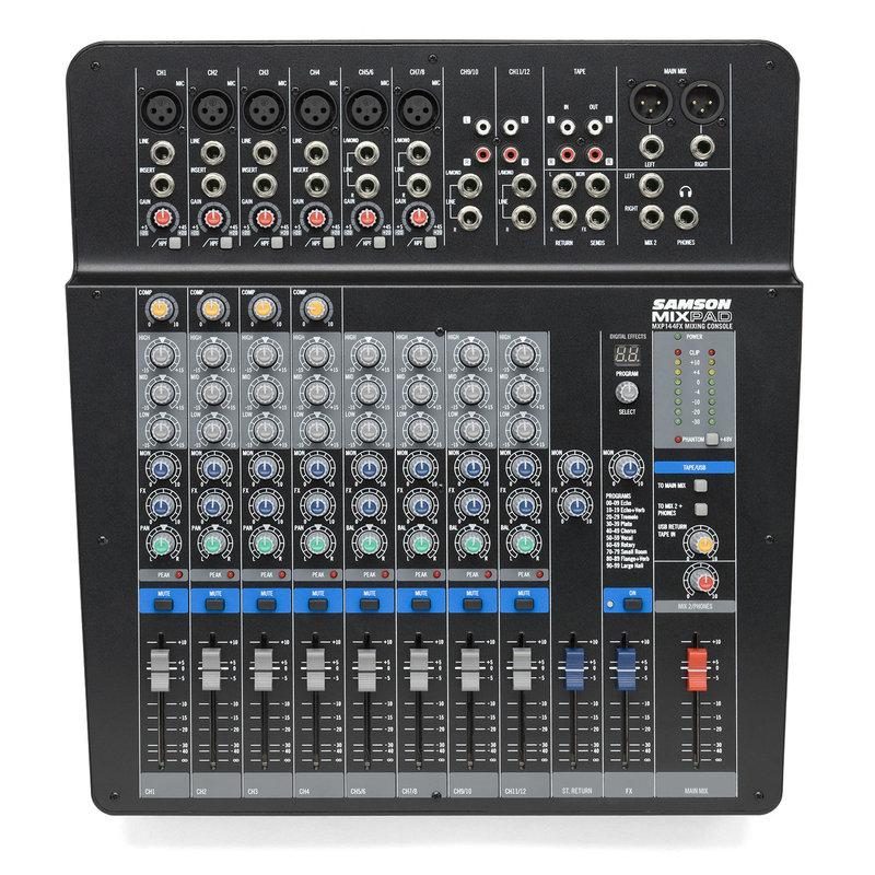 14Ch USB Mixer,6 Xlr, Effects