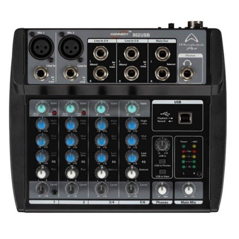 6Ch Micro Mixer W/ USB I/O
