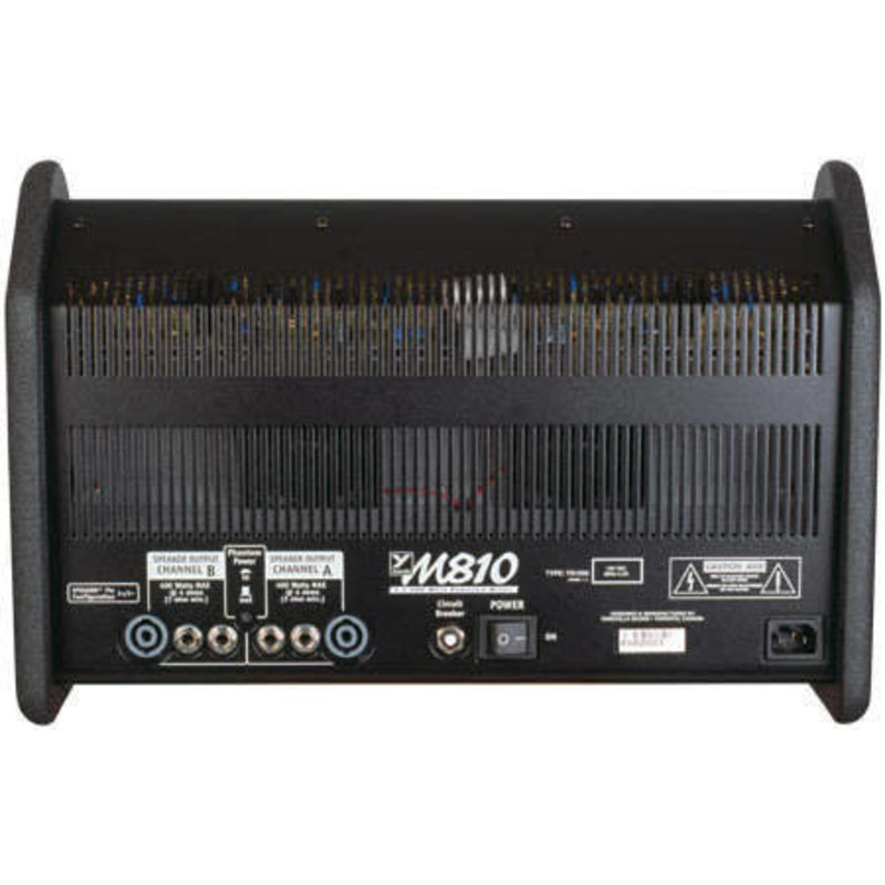 10Ch Powered Mixer Stereo w/FX