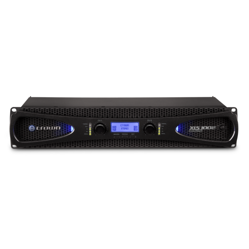 DriveCore2 215w X 2 @ 8 Ohms PA Amplifier