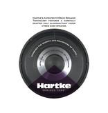 Hartke 75W Hydrive Bass Combo Amp